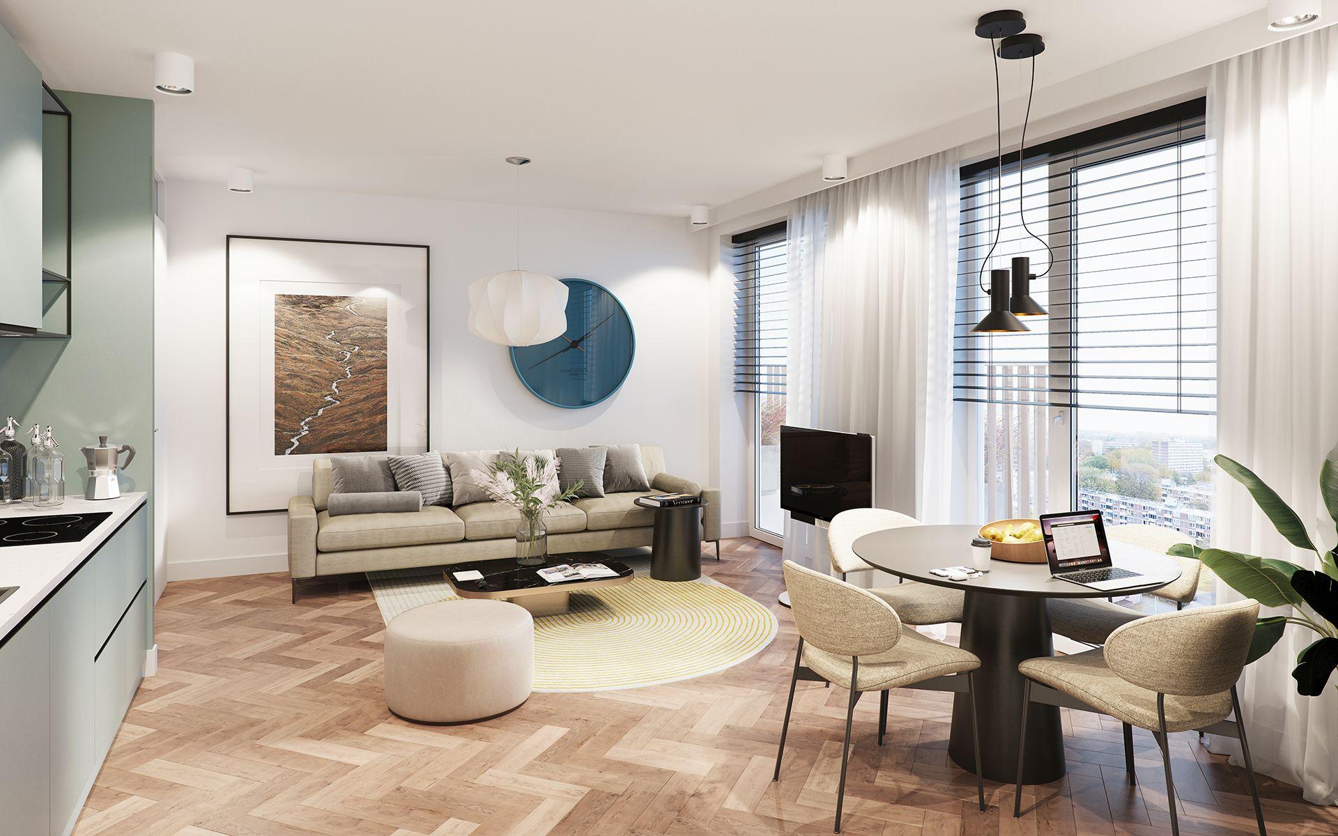 2-kamer Appartementen